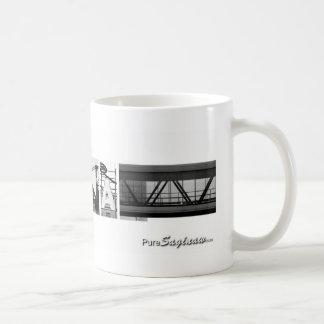 Pure Saginaw Photo Letters Coffee Mug