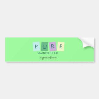 Pure Smoothie Co Car Sticker