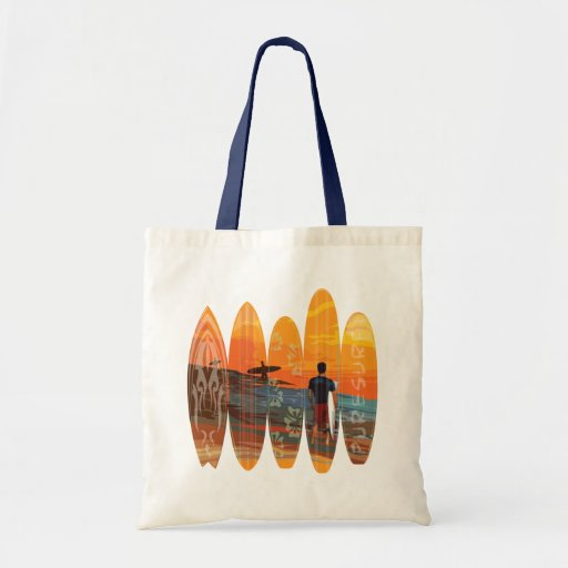 Pure Surfing Budget Tote Bag