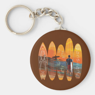 Pure Surfing Key Chain