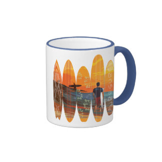Pure Surfing Coffee Mugs