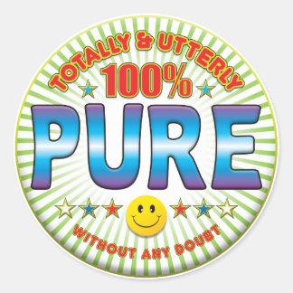 Pure Totally Classic Round Sticker