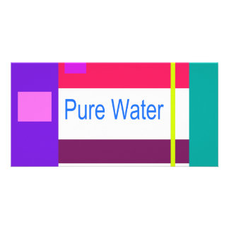 Pure Water Photo Greeting Card
