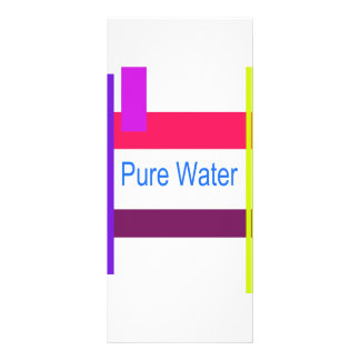 Pure Water Customized Rack Card