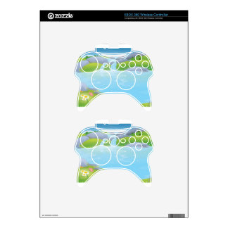 Pure Water Well Spring design Xbox 360 Controller Skins