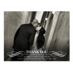 PURE - WEDDING THANK YOU PHOTO POST CARD