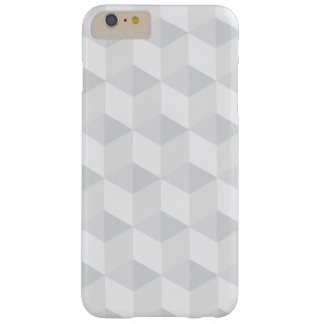 pure white,geometry,graphic design,modern,ultra tr barely there iPhone 6 plus case