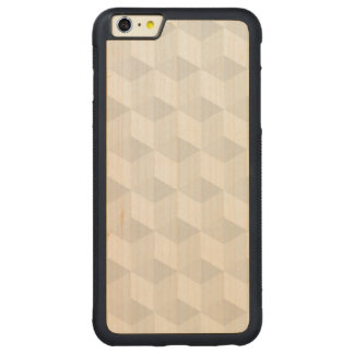 pure white,geometry,graphic design,modern,ultra tr carved® maple iPhone 6 plus bumper