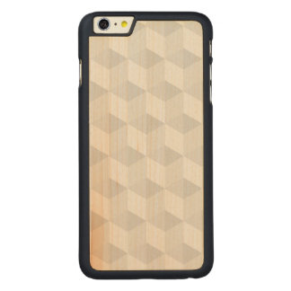 pure white,geometry,graphic design,modern,ultra tr carved® maple iPhone 6 plus slim case