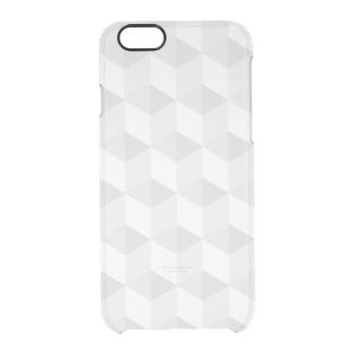 pure white,geometry,graphic design,modern,ultra tr clear iPhone 6/6S case