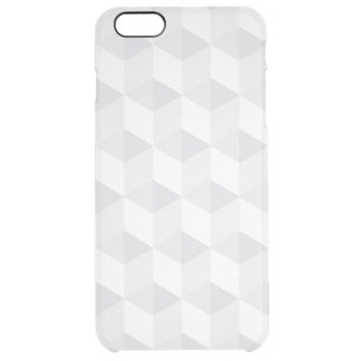 pure white,geometry,graphic design,modern,ultra tr clear iPhone 6 plus case