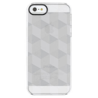 pure white,geometry,graphic design,modern,ultra tr clear iPhone SE/5/5s case