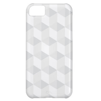 pure white,geometry,graphic design,modern,ultra tr cover for iPhone 5C