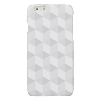 pure white,geometry,graphic design,modern,ultra tr glossy iPhone 6 case