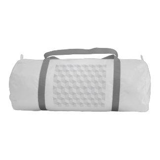 pure white,geometry,graphic design,modern,ultra tr gym bag