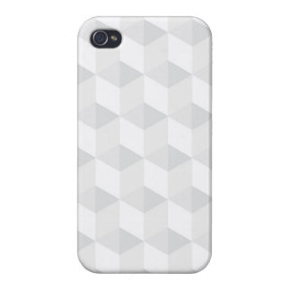 pure white,geometry,graphic design,modern,ultra tr iPhone 4/4S covers