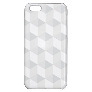 pure white,geometry,graphic design,modern,ultra tr iPhone 5C cover