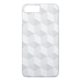 pure white,geometry,graphic design,modern,ultra tr iPhone 7 plus case