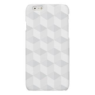 pure white,geometry,graphic design,modern,ultra tr matte iPhone 6 case