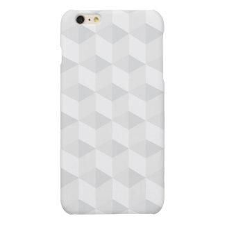 pure white,geometry,graphic design,modern,ultra tr matte iPhone 6 plus case