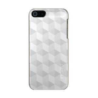pure white,geometry,graphic design,modern,ultra tr metallic iPhone SE/5/5s case