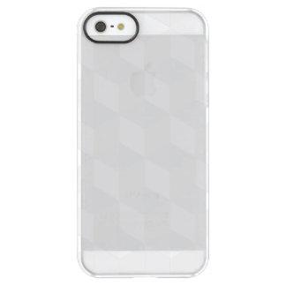 pure white,geometry,graphic design,modern,ultra tr permafrost® iPhone SE/5/5s case
