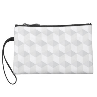 pure white,geometry,graphic design,modern,ultra tr suede wristlet wallet