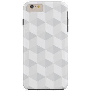 pure white,geometry,graphic design,modern,ultra tr tough iPhone 6 plus case