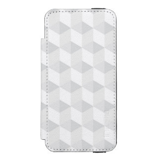 pure white,geometry,graphic design,modern,ultra tr wallet case for iPhone SE/5/5s