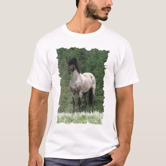 Pureblood Spanish Mustang Art T-Shirt