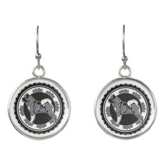 Purebred Akita Dog Lovers Gift Earrings