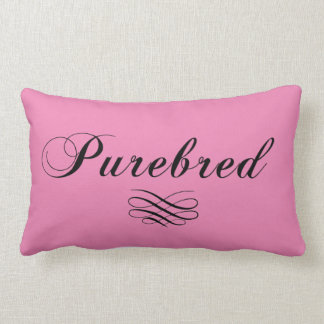 Purebred - Dog Throw Pillow