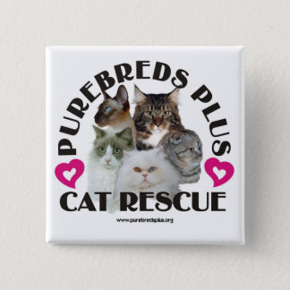 Purebred Plus Cat Rescue Button