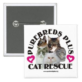 Purebred Plus Cat Rescue Button