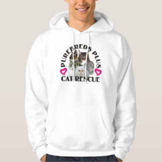 Purebreds Plus Cat Rescue Hoodie