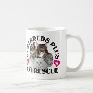Purebreds Plus Cat Rescue Mug