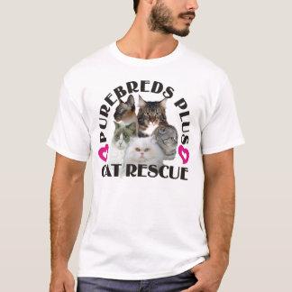 Purebreds Plus Cat Rescue T-Shirt