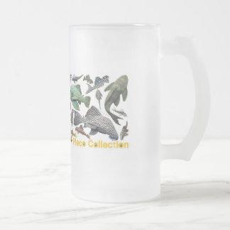 pureko frosted glass beer mug