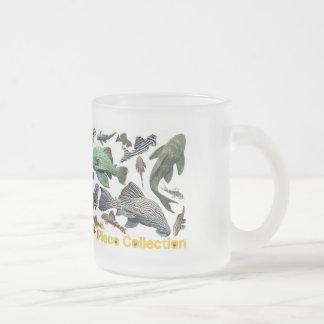 pureko frosted glass coffee mug