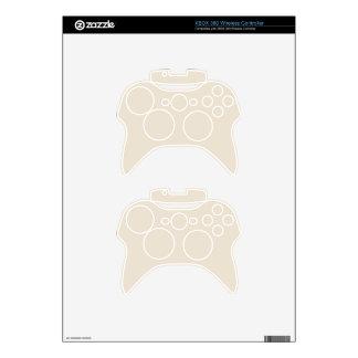Purely Nostalgic White Color Xbox 360 Controller Decal