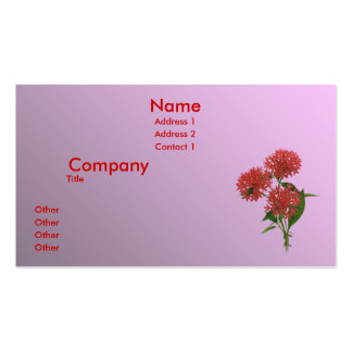 Purely Pink Business Card