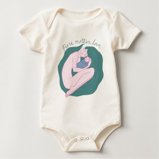 PureMotherLove Baby Bodysuit
