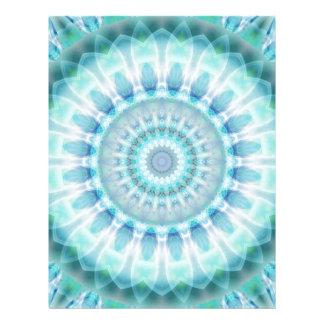 Pureza espiritual de la mandala diseñada por Tutti Membretes Personalizados