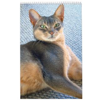 Purfect Kitten & Cat Calendar - any month & year