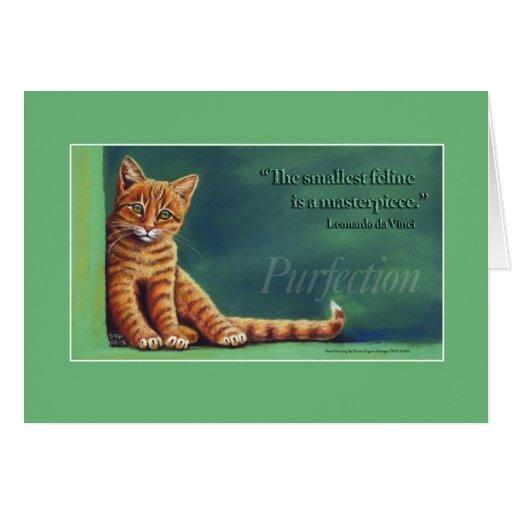Purfection Tarjeta De Felicitación