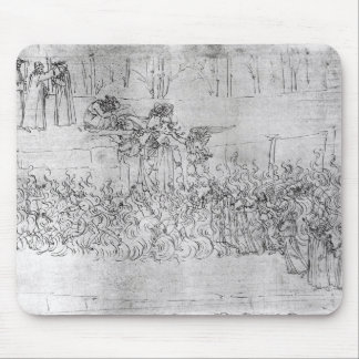 Purgatory, from 'The Divine Comedy' by Dante Mouse Pad