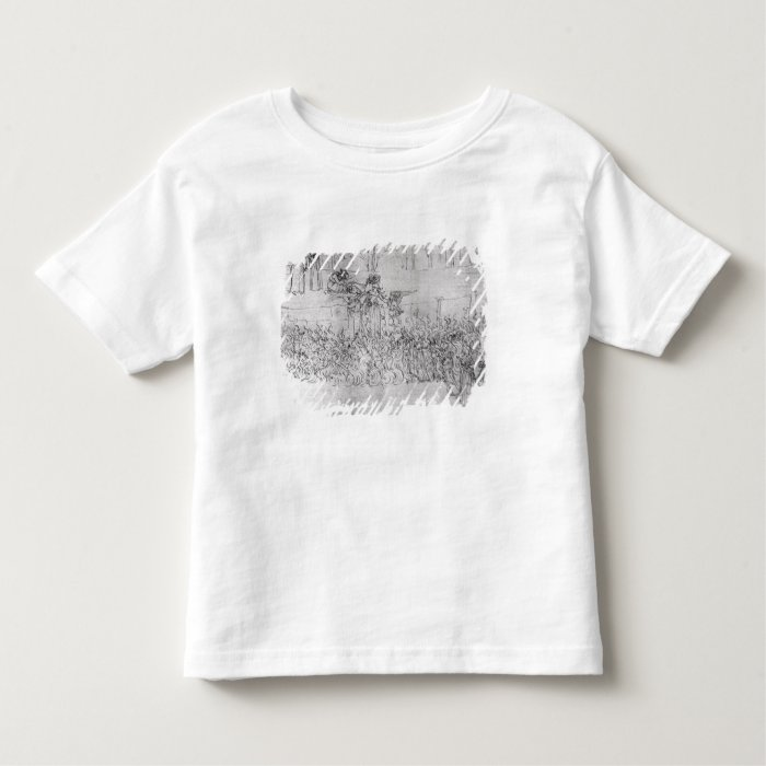Purgatory, from 'The Divine Comedy' by Dante Toddler T-shirt
