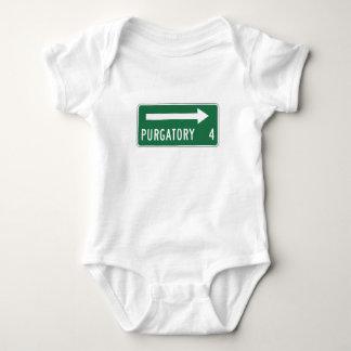 Purgatory, Road Marker, Maine, US Baby Bodysuit