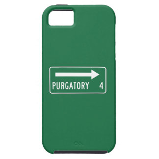 Purgatory, Road Marker, Maine, US iPhone 5 Cover