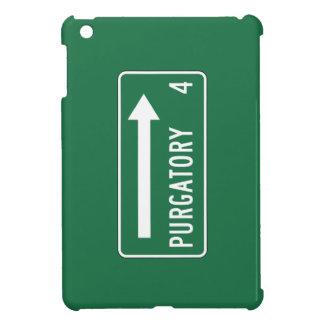 Purgatory, Road Marker, Maine, US Cover For The iPad Mini
